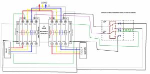 Reliance Generator Transfer Switch Wiring Diagram - Reliance Generator Transfer Switch Wiring Diagram Beautiful Reliance Generator Transfer Switch Wiring Diagram Generac 7j