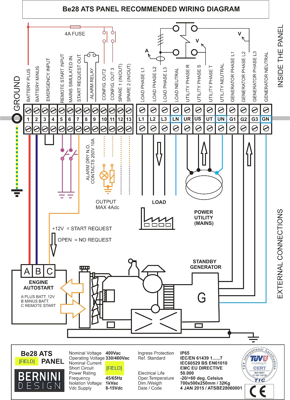Residential Transfer Switch Wiring Diagram Gallery