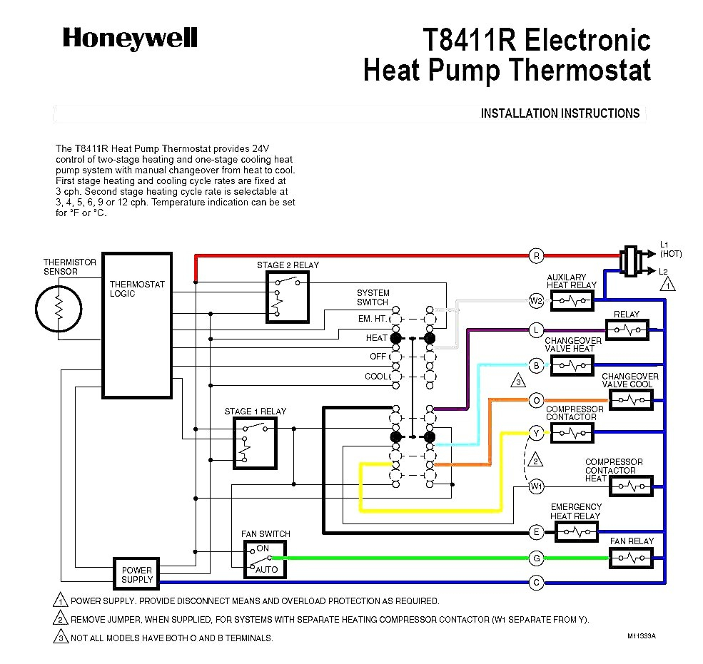 Trane Weathertron Thermostat Wiring Diagram on