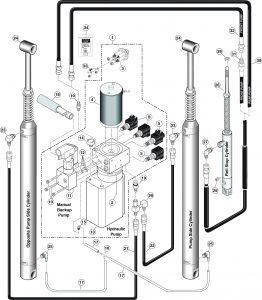 Ricon S Series Wheelchair Lift Wiring Diagram - Double Tap to Zoom 16o