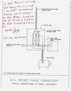 ronk roto phase wiring diagram rotary phase converter wiring diagram download #5
