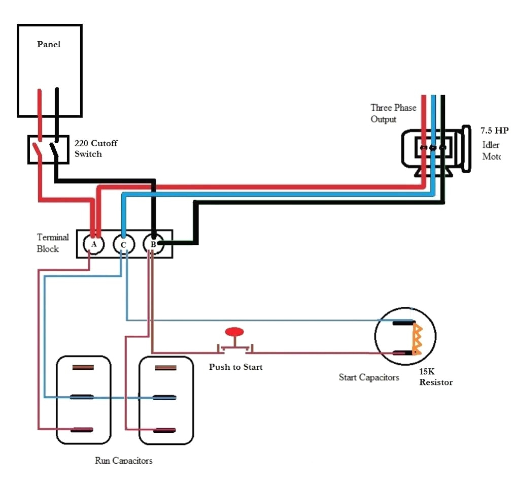 roto phase converter wiring diagram Collection-roto phase converter wiring diagram Download Ronk Phase Converter Wiring Diagram 1 7 c DOWNLOAD Wiring Diagram Sheets Detail Name roto phase converter 16-c