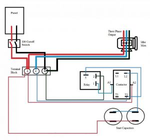 Roto Phase Converter Wiring Diagram - Static Phase Converter Wiring Diagram 9q