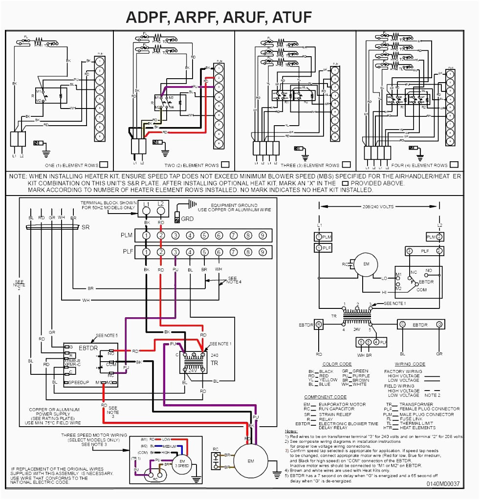 Gibson Air Handler Wiring Diagram - Wiring Diagrams Hidden on