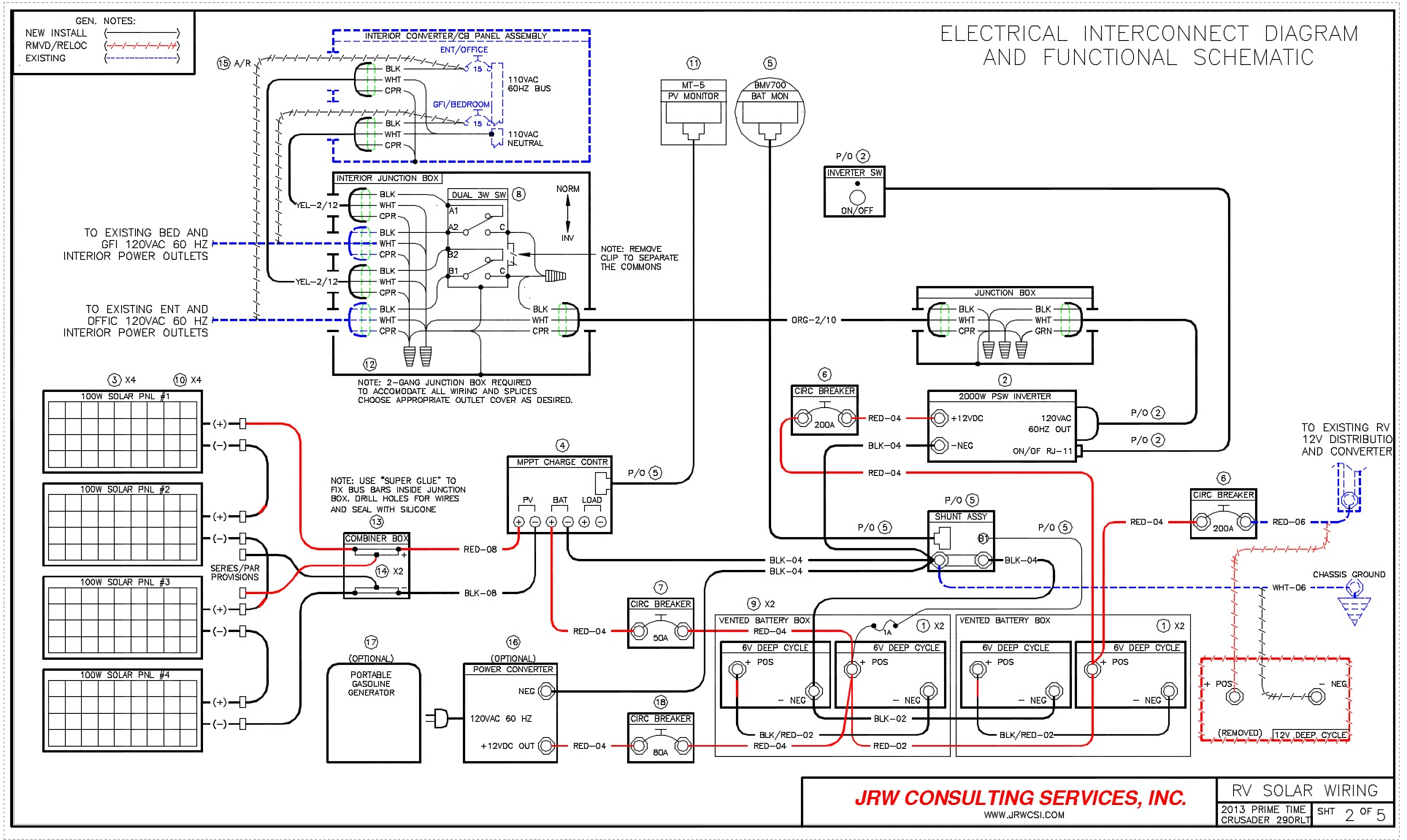Swell Rv Solar Panel Installation Wiring Diagram Sample Wiring Database Ittabxeroyuccorg