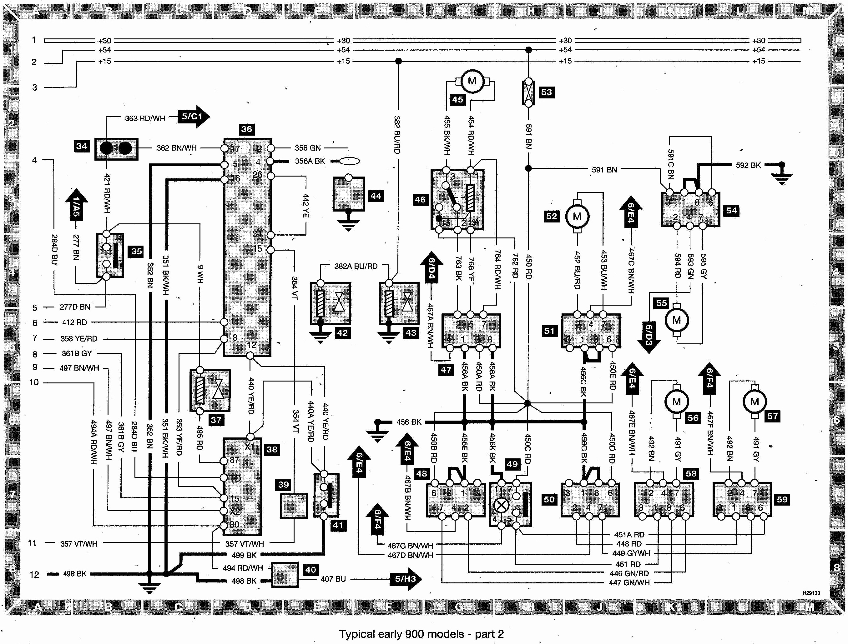 saab 900 wiring diagram pdf collection saab 93 wiring diagrams saab 93 wiring diagram download #5