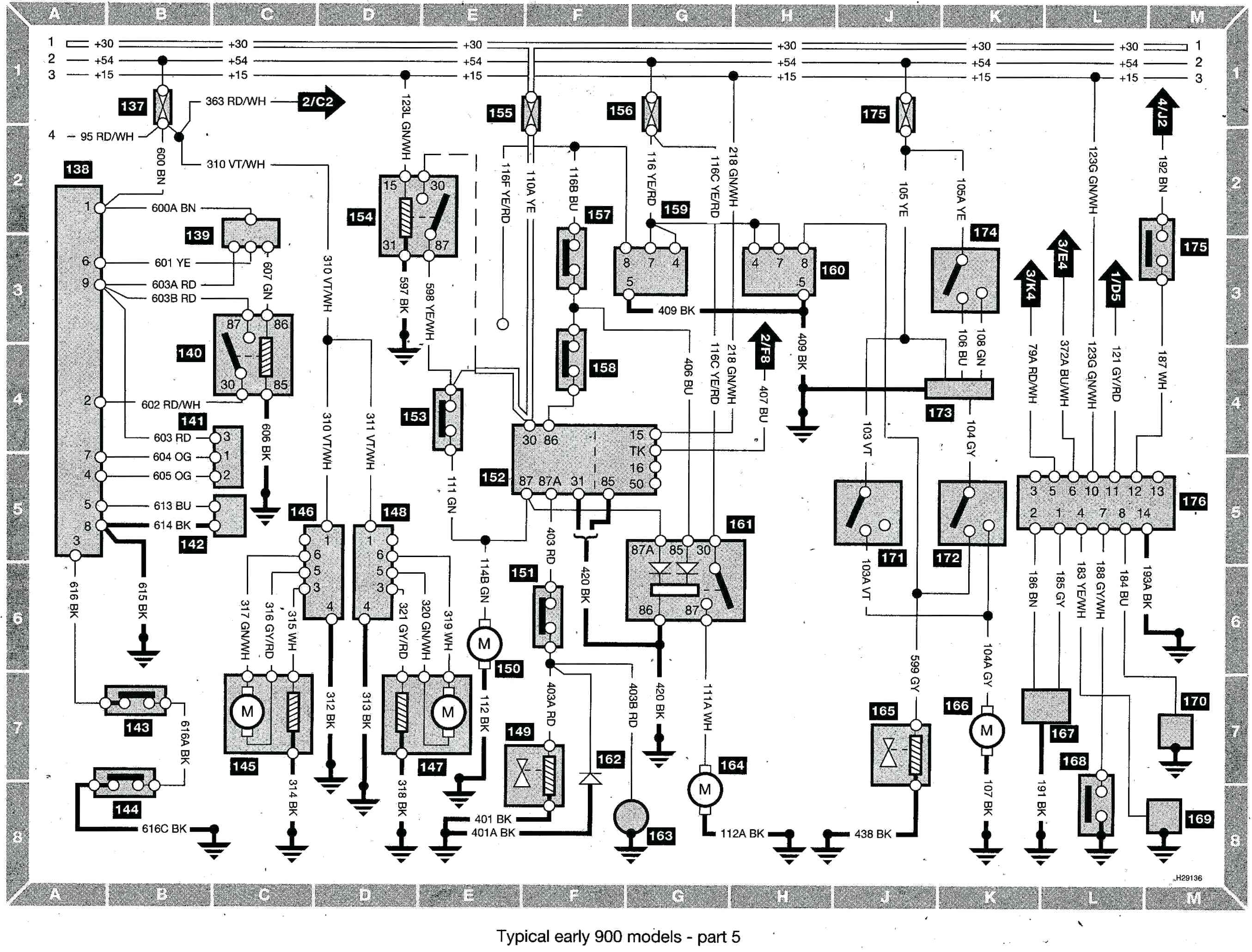 1997 Saab 900 Radio Wiring Diagram