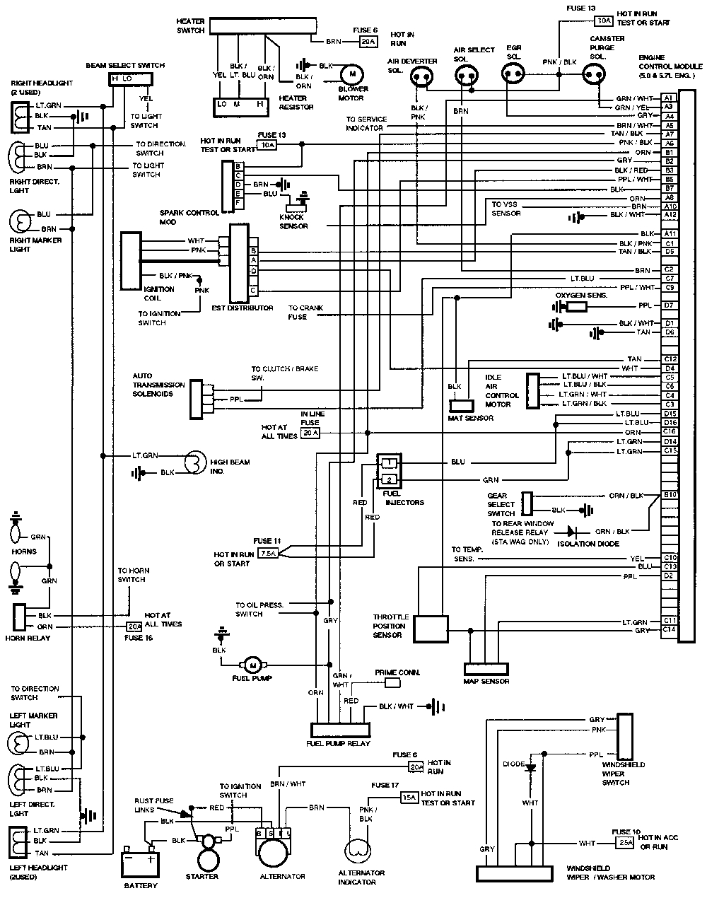 safety switch wiring diagram Download-Lokar Neutral Safety Switch Wiring Download safety switch wiring diagram Fresh 1996 4l60e Wiring Diagram 20-i