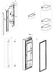 Samsung Refrigerator Wiring Diagram - Wiring Diagram Ac Samsung Save Samsung Refrigerator Parts Diagram – Wire Diagram 4b