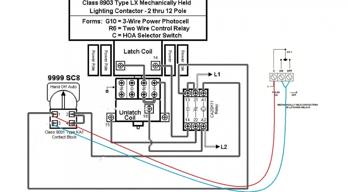 Schneider Electric Contactor Wiring Diagram Gallery