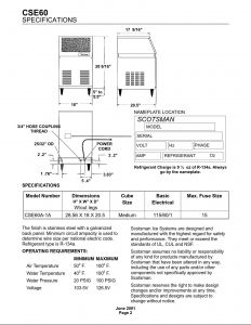 Scotsman Ice Machine Wiring Diagram - Scotsman Ice Machine Wiring Diagram Best Service Manual Cse60 15i