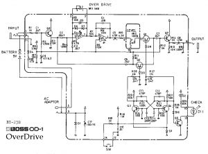 Simple Ignition Wiring Diagram - Amplifier Wiring Diagram Elegant Boss Od 1 Overdrive Guitar Pedal aswc 1 Wiring Diagram Download 14m