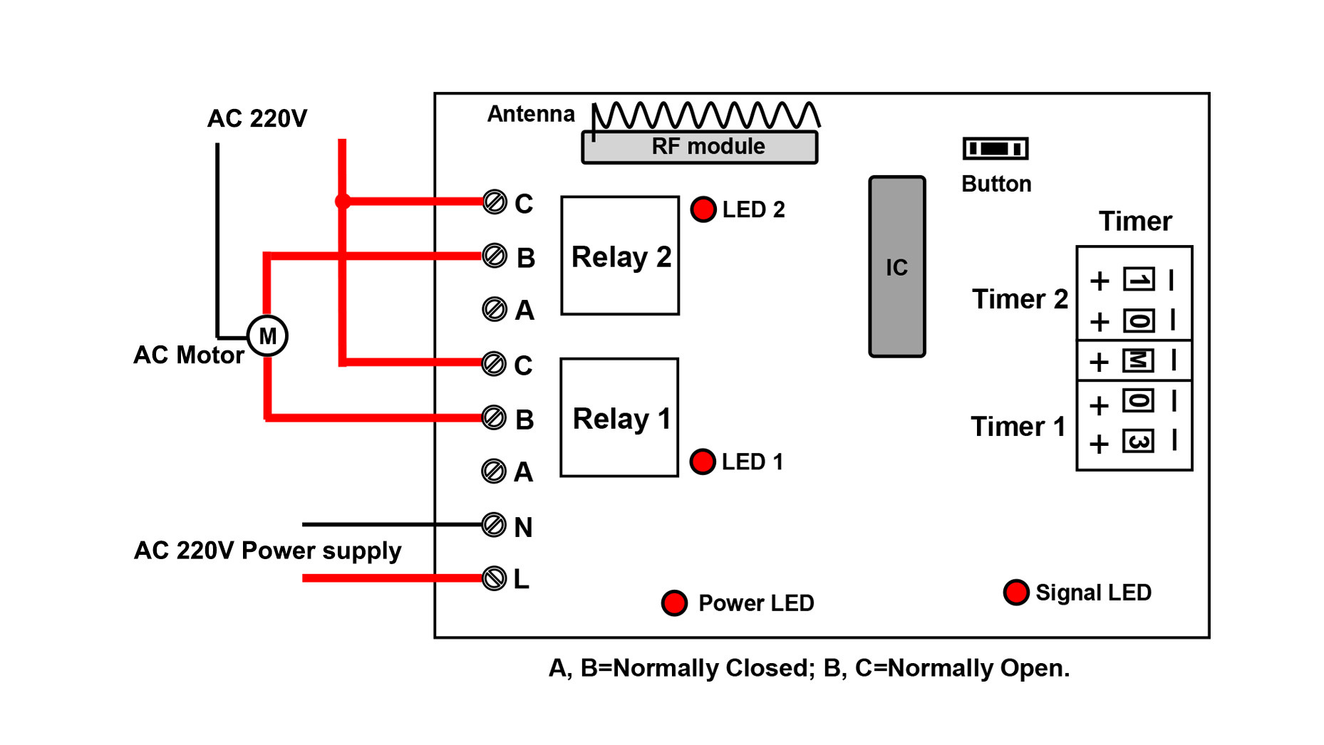 Single Phase Capacitor Motor Wiring Diagrams