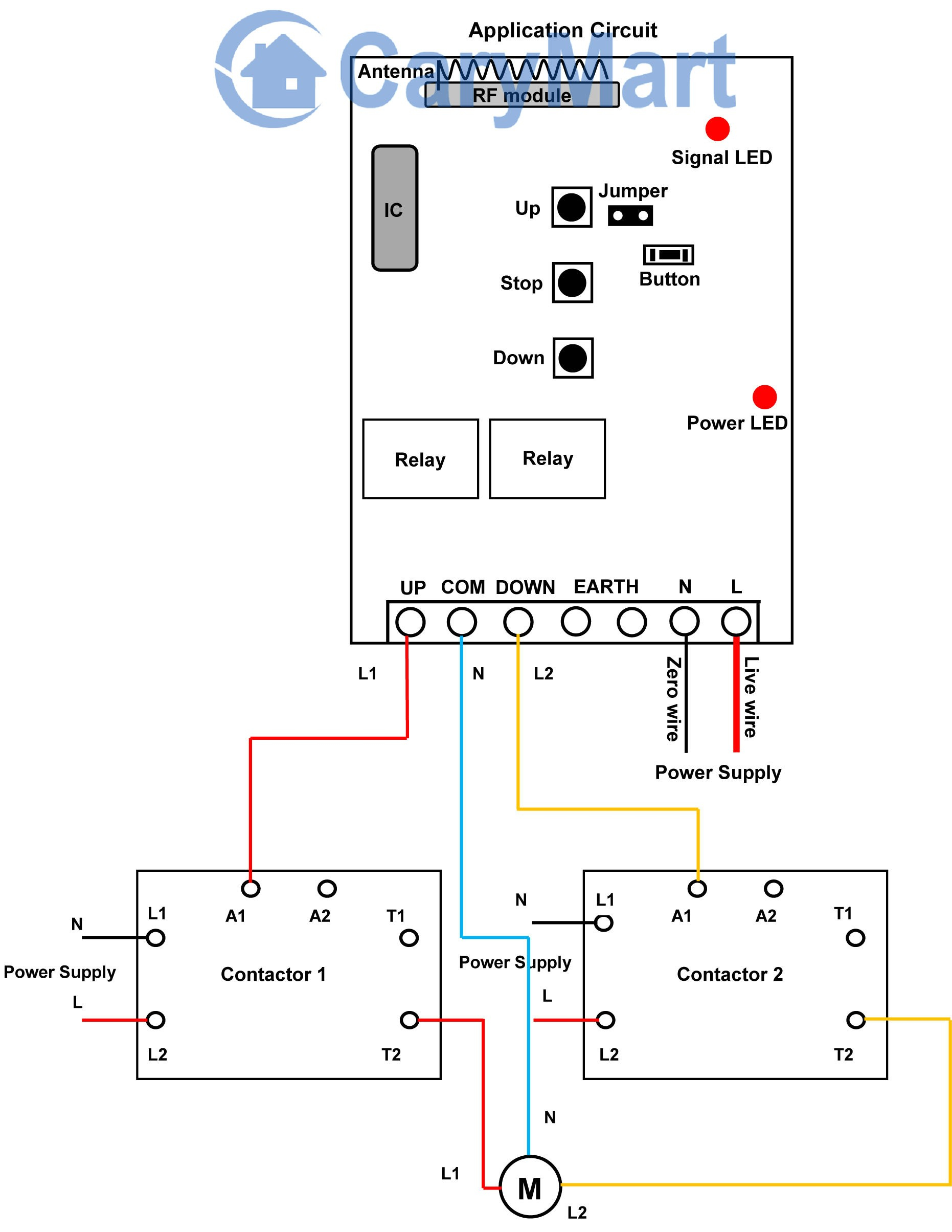 single phase hoist wiring diagram - wiring diagram for the motor new 120  volt hoist wiring