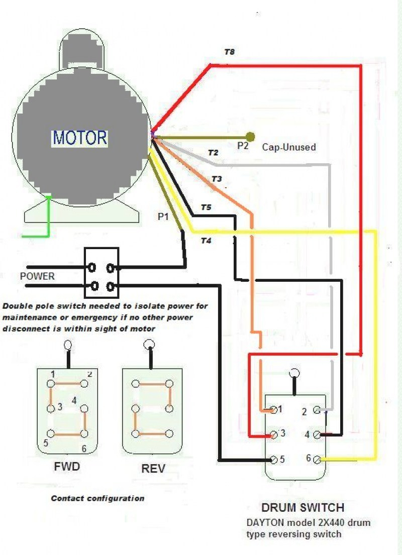 Wiring Diagrams For Electric Motors
