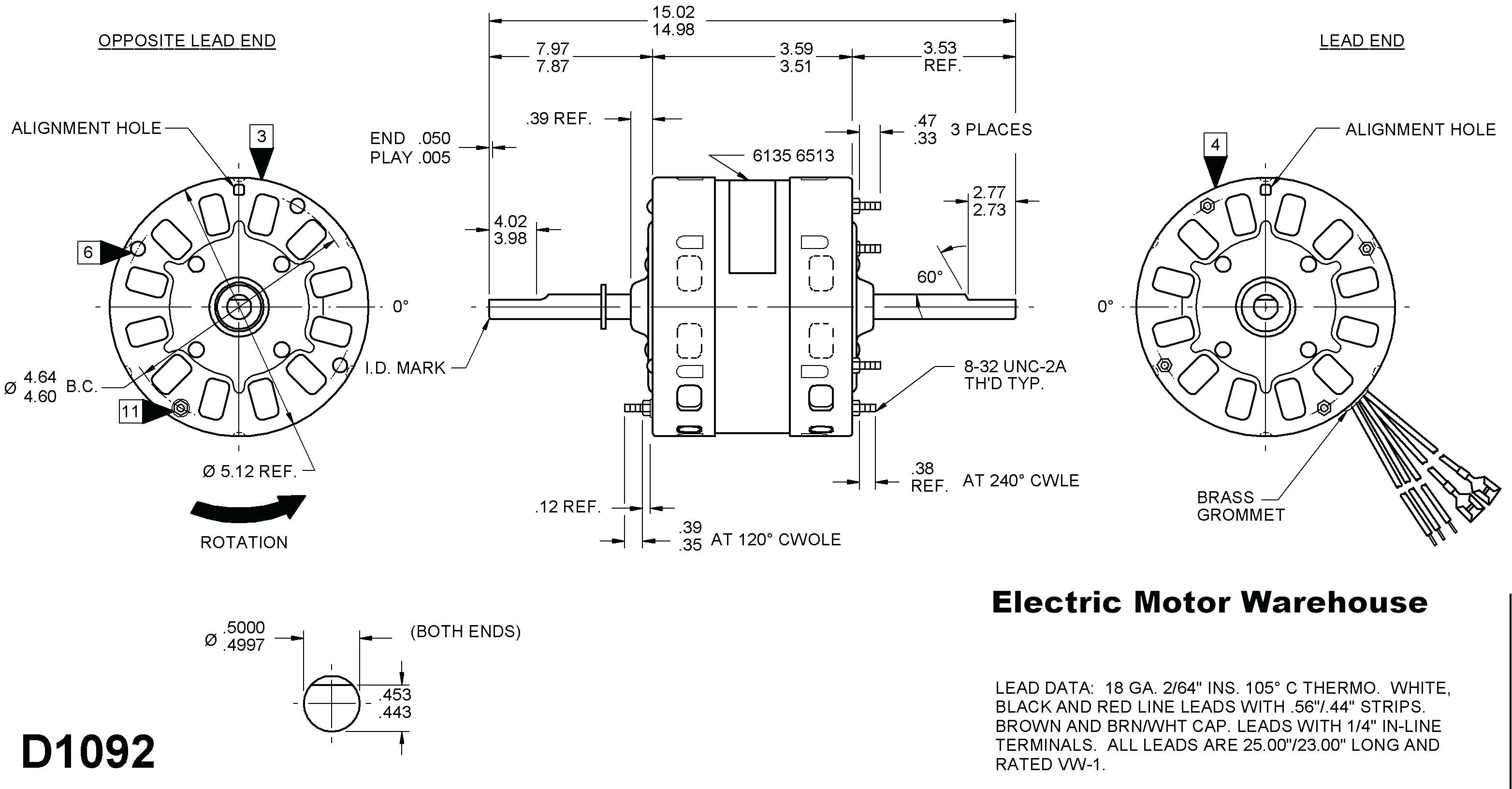 Fasco Motors Wiring Diagram