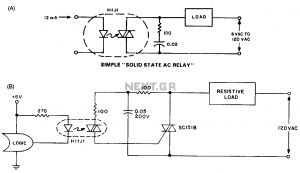 Solid State Relay Wiring Diagram - solid State Relay Circuit Diagram Awesome Ponent solid State Relay Schematic Relay Circuit Automation 20j