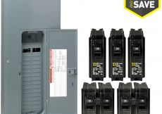 Square D Breaker Box Wiring Diagram - Square D Homeline 60 Circuit 30 Space 200 Amp Main Breaker Plug 8p