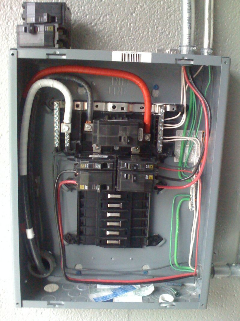 Square D Homeline 100 Amp Panel Wiring Diagram Download