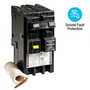 Square D Homeline 100 Amp Panel Wiring Diagram - Homeline 20 Amp 2 Pole Gfci Circuit Breaker 14h