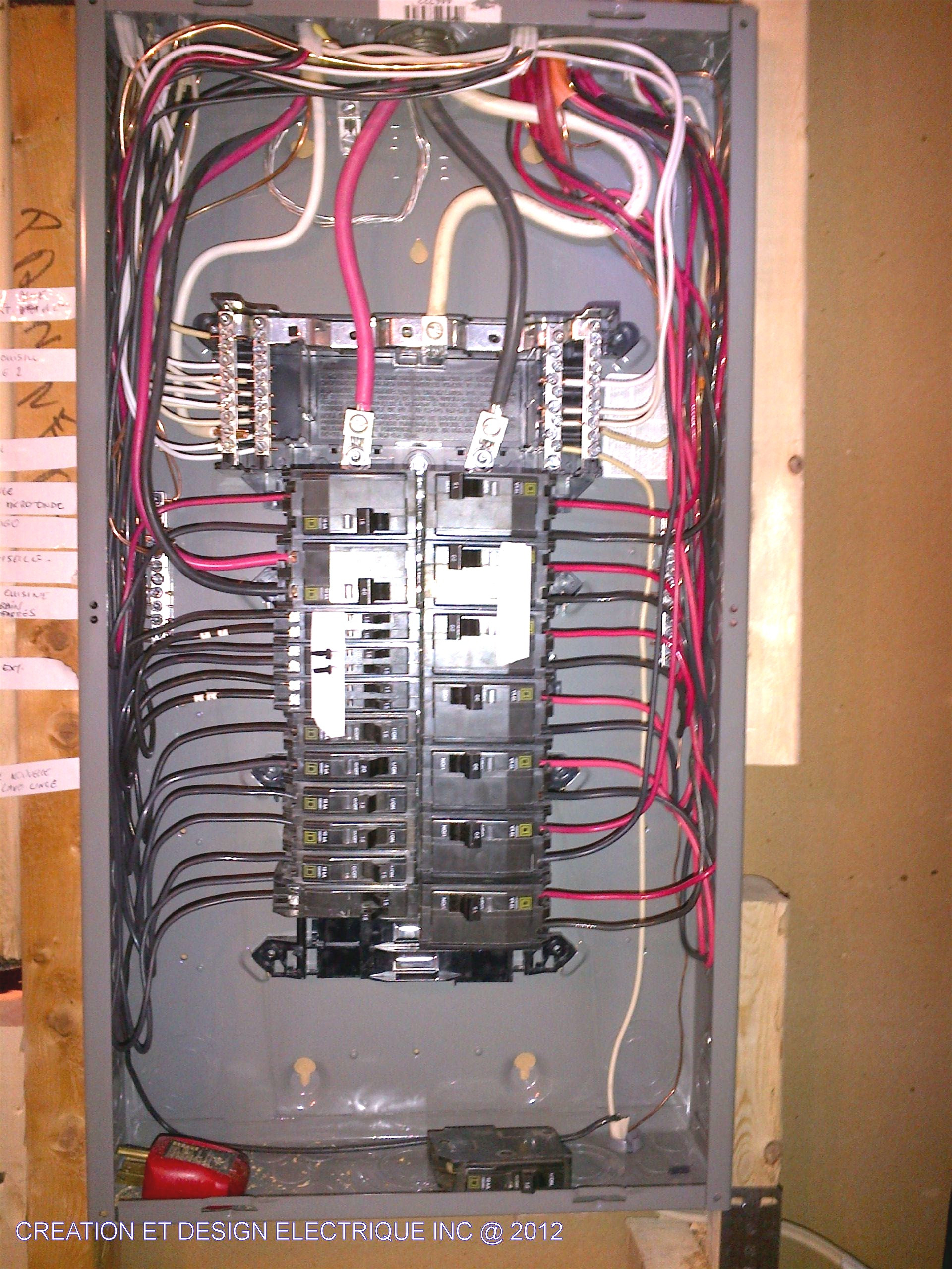 Main Breaker Box Wiring Diagram