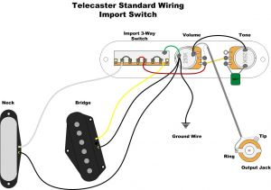 Standard Telecaster Wiring Diagram - A Wealth Of Guitar Wiring Diagrams 9r