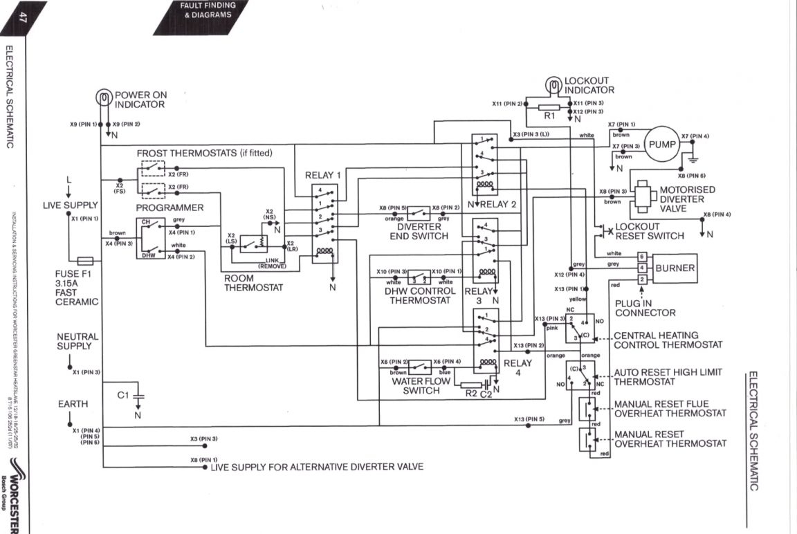 Steam Boiler Wiring Diagram Sample