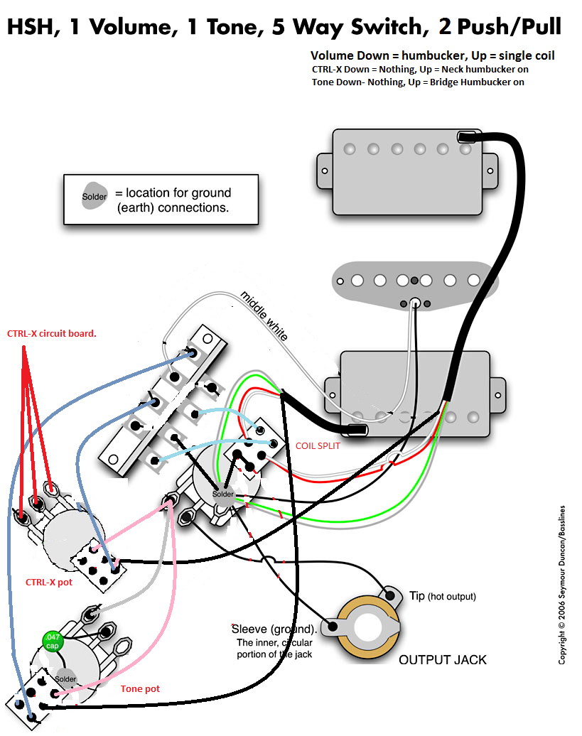Strat Blender Wiring Diagram Sample