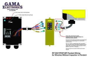 Strongway Electric Cable Hoist Wiring Diagram - Rf Remote Control for 120vac Pendant Controlled Hoists and Winches Rh Hoist Pendant Controls 16r