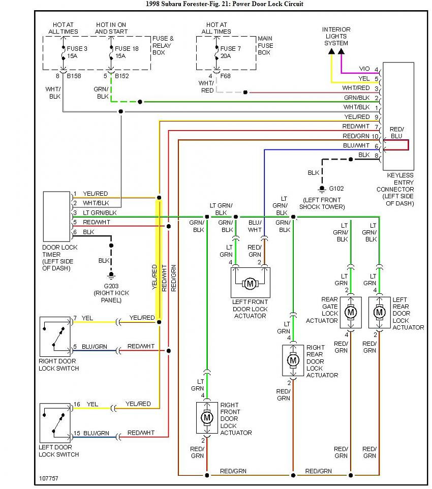 subaru forester radio wiring diagram - 2009 subaru forester power window wiring  diagram wiring diagram rh