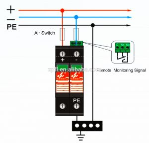Surge Protection Device Wiring Diagram - Surge Diverter Wiring Diagram 3e