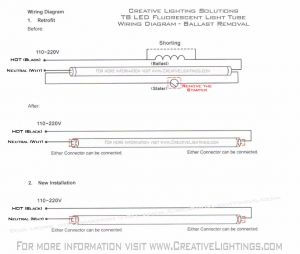 T8 Led Tube Wiring Diagram - Wiring Diagram for Led Tube Lights Lovely Cool Led Tube Wiring Diagram Inspiration Electrical and 14i