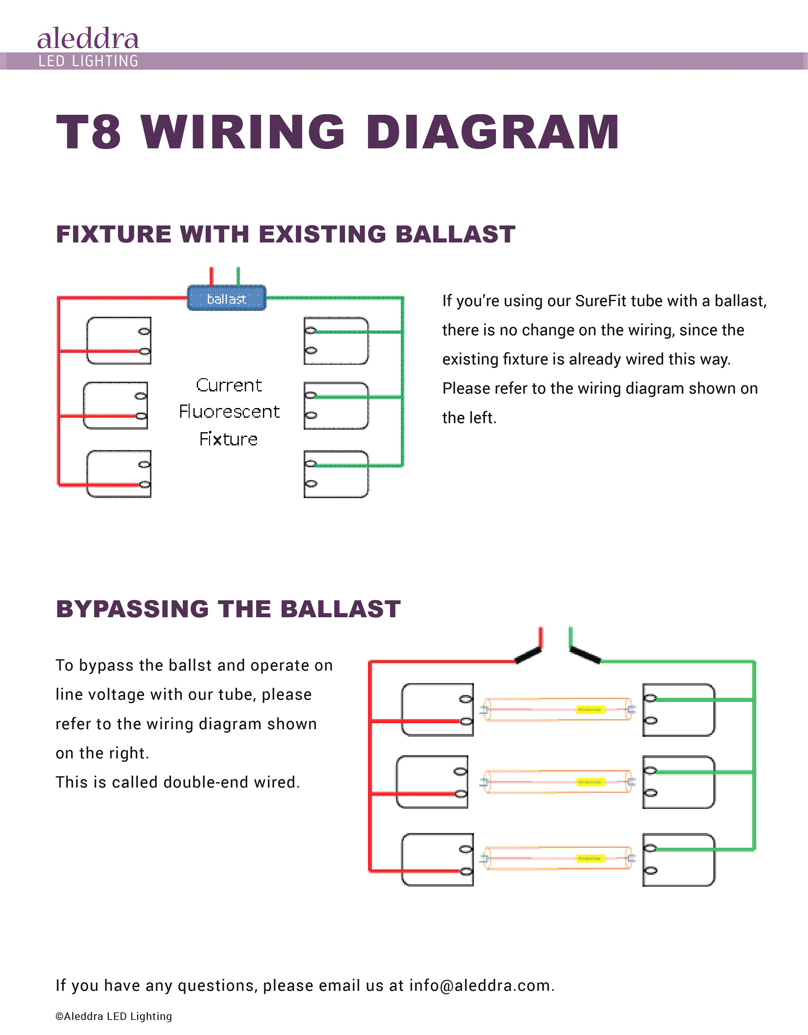 T8 Led Tube Wiring Diagram Gallery