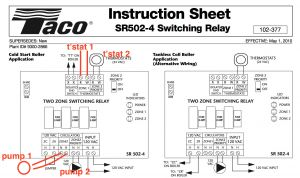 Taco 007 F5 Wiring Diagram - Wiring Diagram Detail Name Taco Circulator 12n