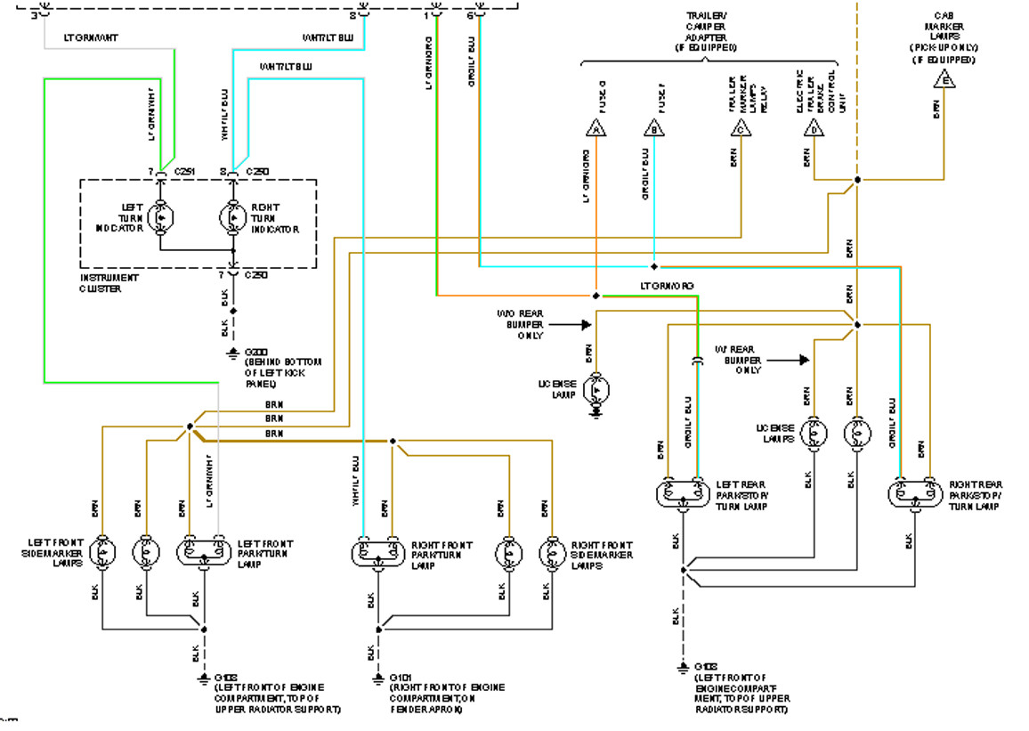 Ford Truck Tail Light Harness - Res Wiring Diagrams on