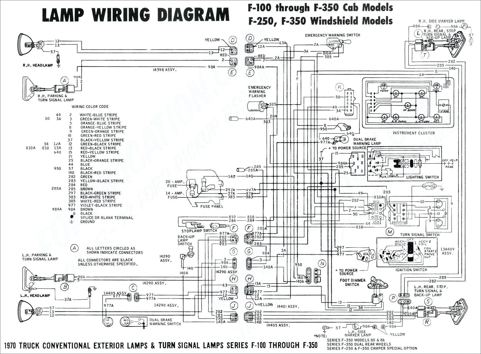 Tail Light Wiring Diagram Ford F150