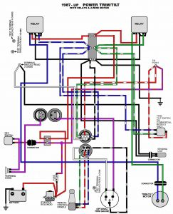 Tilt and Trim Switch Wiring Diagram - Mercruiser Boat Wiring Diagrams Moreover Mercury Outboard Wiring Rh Lakitiki Co 14n