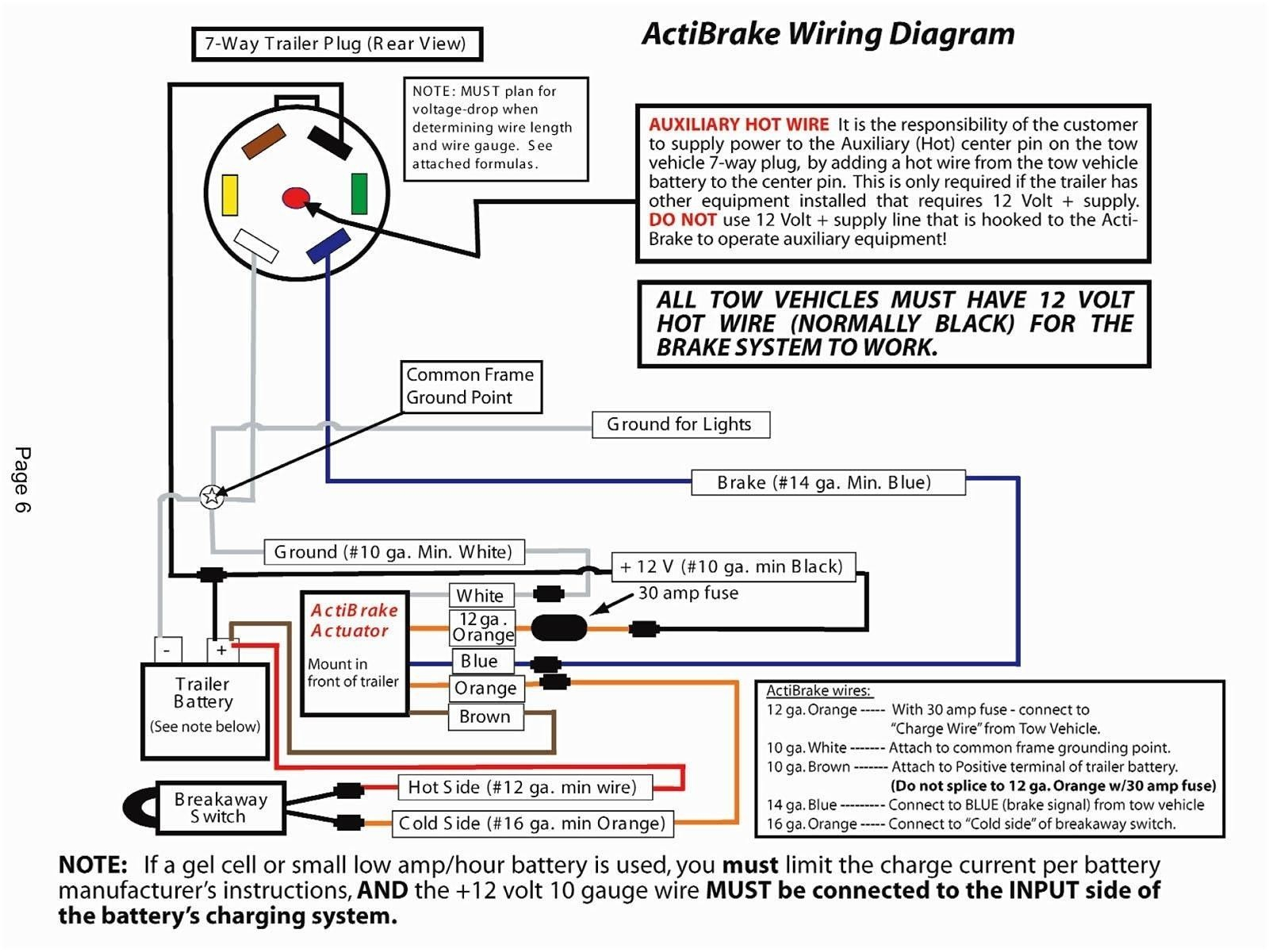 tow vehicle wiring diagram Download-Automotive Trailer Wiring Diagram Save Wiring Diagram Trailer Brakes Save Reese Trailer Wiring Diagram 8-b