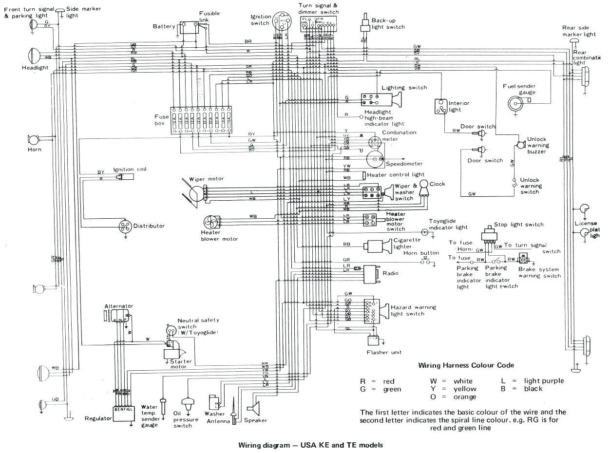 toyota wiring diagrams schematics toyota corolla wiring diagram sample #10