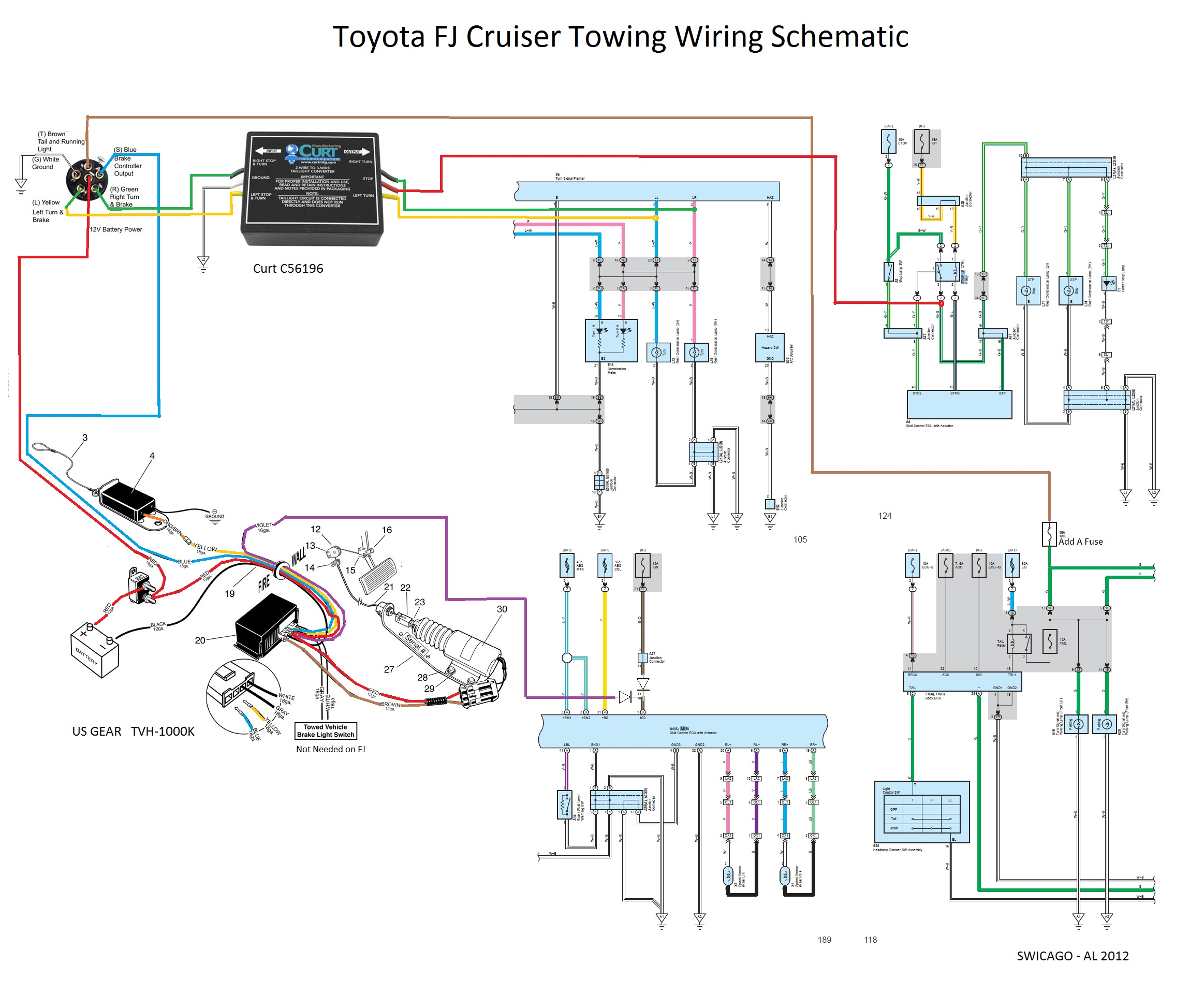 toyota tundra trailer wiring harness diagram Collection-Toyota Tundra Trailer Wiring Harness Diagram Beautiful Flat tow 6mt Yes It Can Be Done toyota 15-i