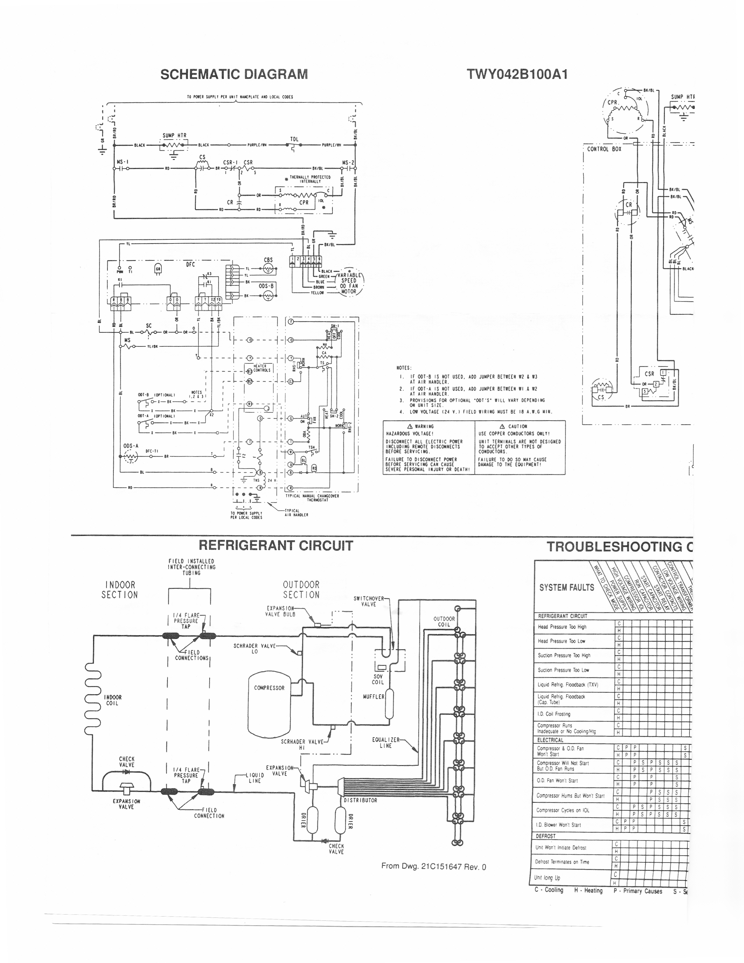trane heat pump thermostat wiring diagram Collection-Trane Air Conditioner Wiring Schematic Handler Diagram For Solidfonts New Heat Pump And Thermostat For Trane Wiring Diagram 3-n
