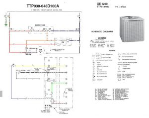 Trane Package Unit Wiring Diagram - Outside Ac Fan Not Spinning Buzzing sound Trane Xe1200 Best Xe1000 Wiring Diagram In Trane Xe1000 Wiring Diagram 11k