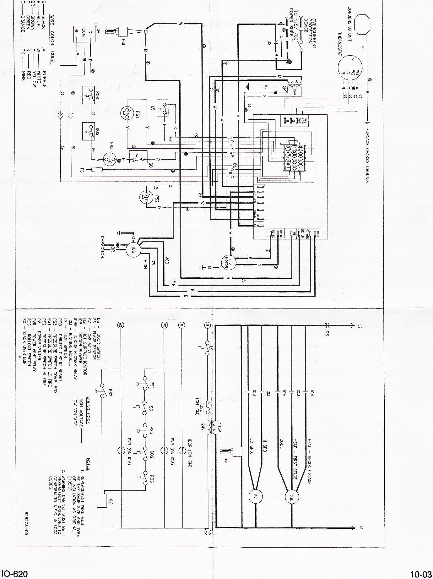 Weathertron Thermostat Wiring - Technical Diagrams on