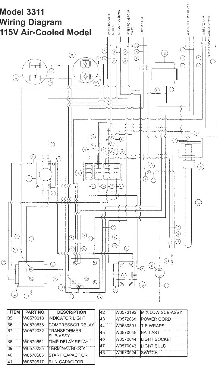 true freezer t 49f wiring diagram Collection-True Freezer Wiring Diagram Unique True Freezer T 49f Wiring Diagram New Update within 13-b