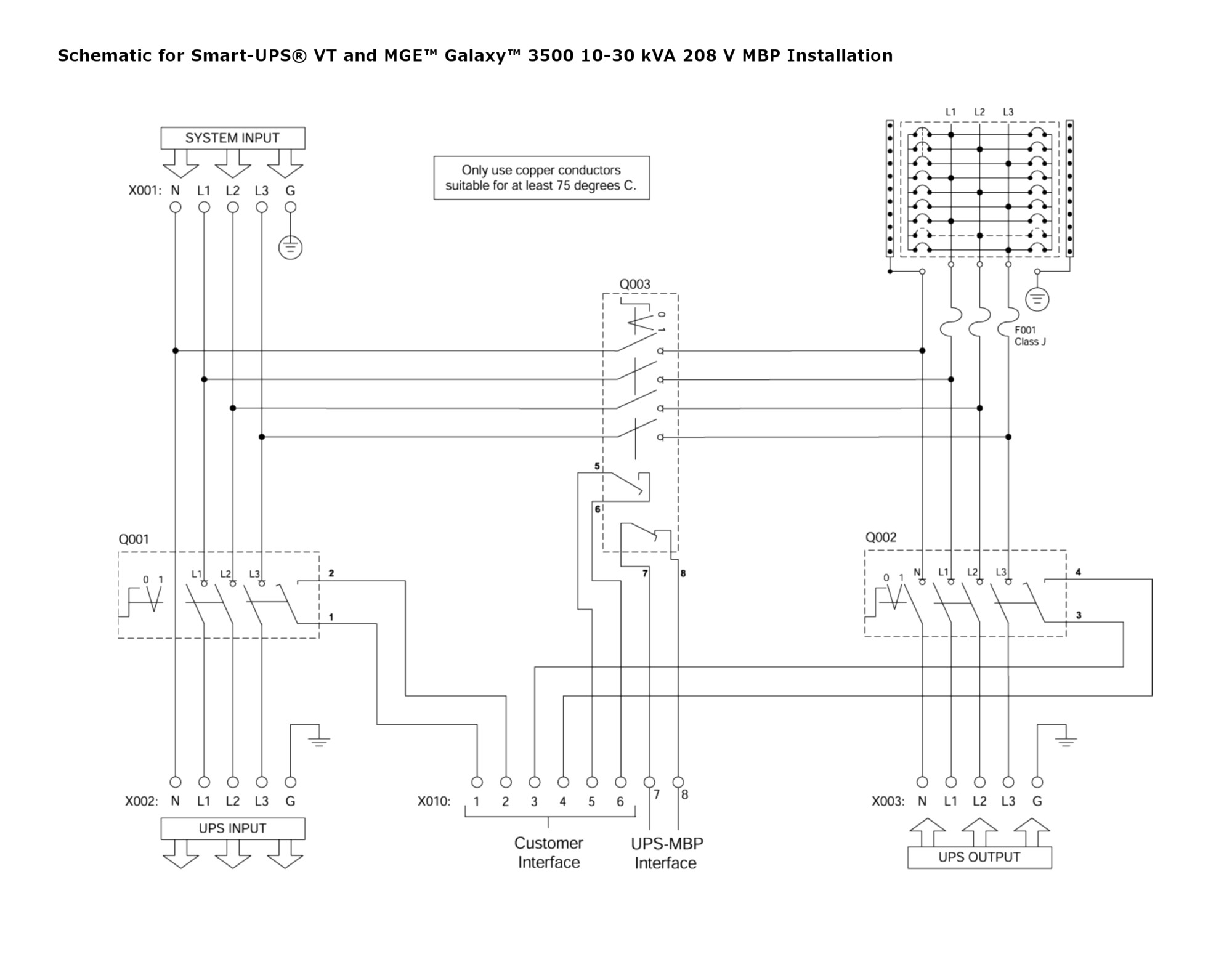 ups maintenance bypass switch wiring diagram gallery