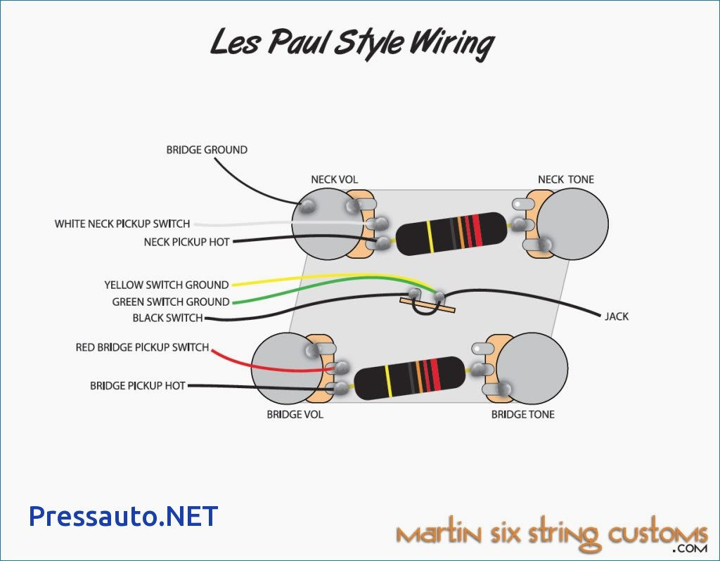 Stock Les Paul Wiring Diagram | Wiring Diagram on