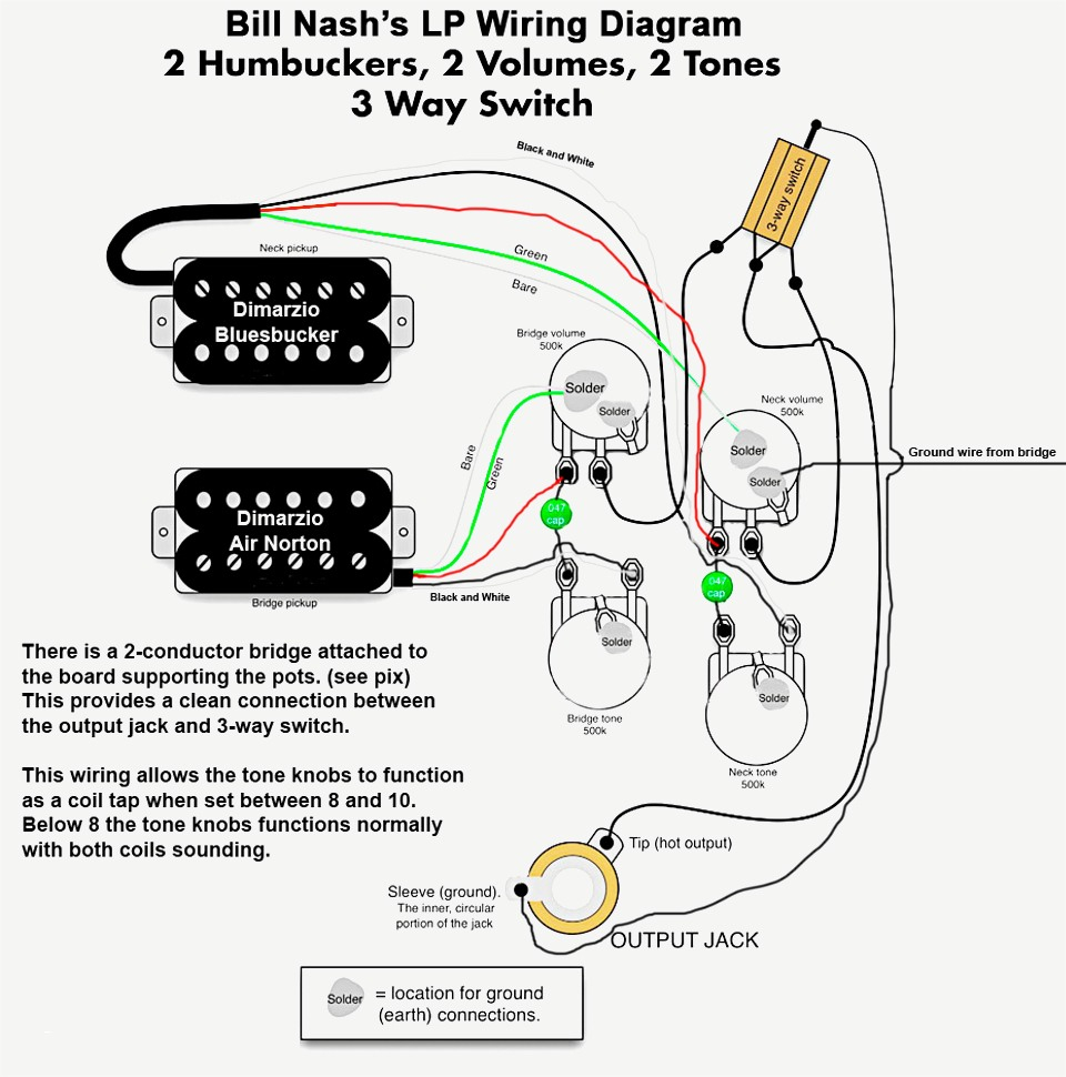 vintage les paul wiring diagram gallery
