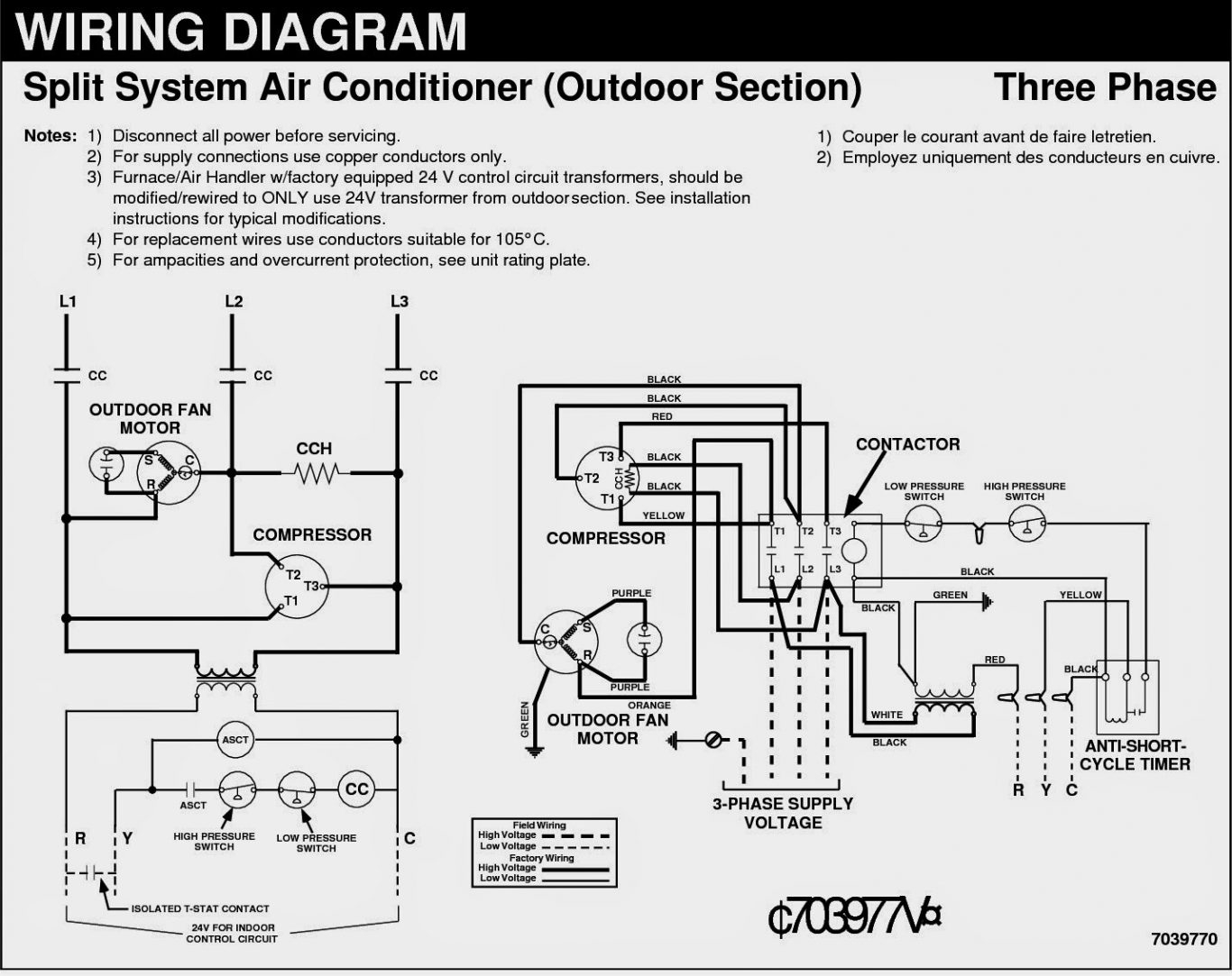 3 phase copeland compressor wiring diagrams  | 695 x 768