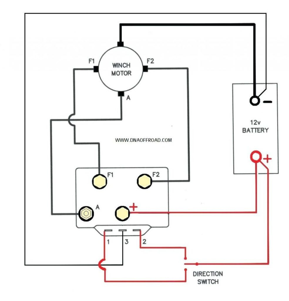 Ramsey Winch Wiring Diagram Wiring Diagram