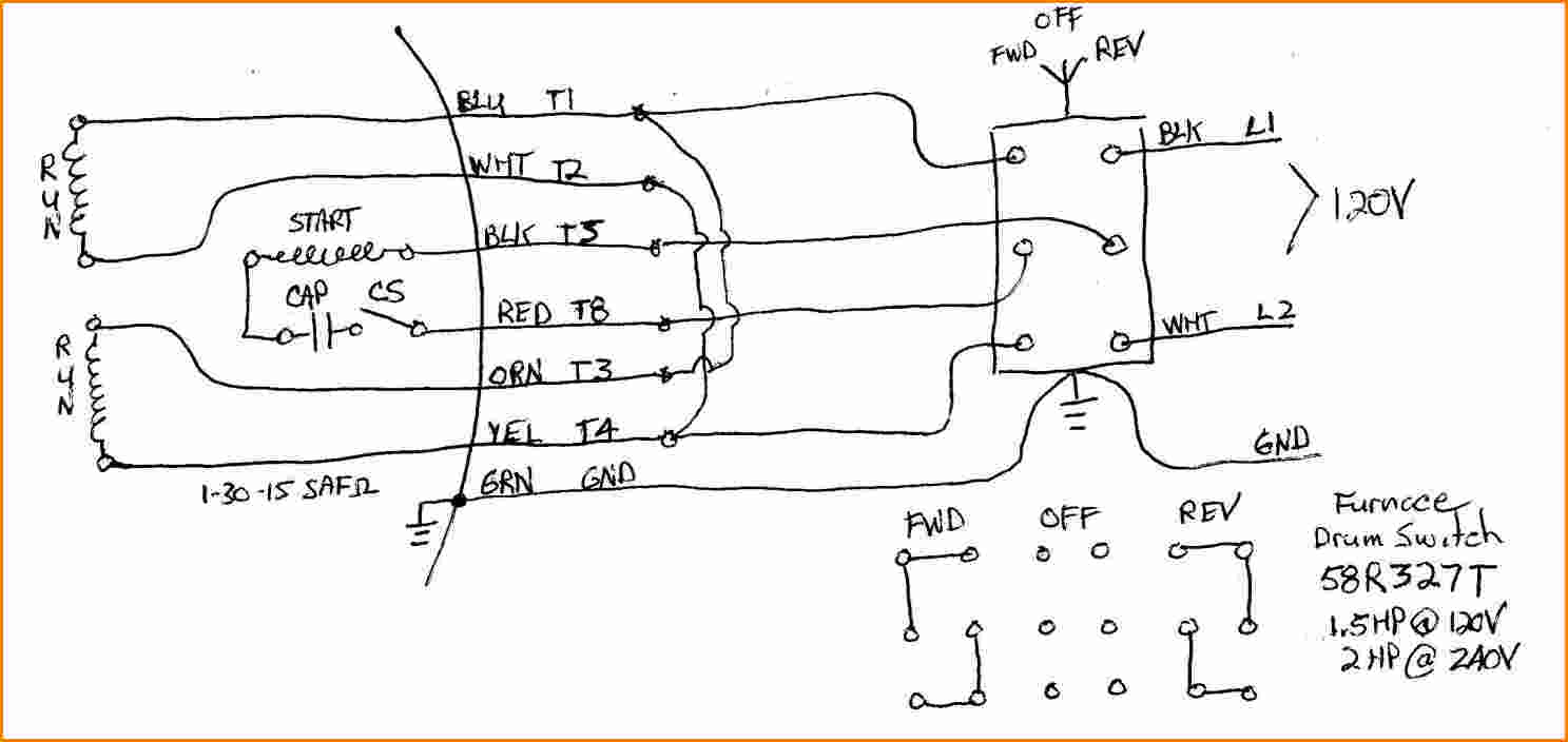 weg 12 lead motor wiring diagram Collection-dayton capacitor start motor wiring diagram wiring diagram rh magnusrosen net 230 Single Phase Wiring Diagram 12 Lead Motor Wiring Diagram 8-i